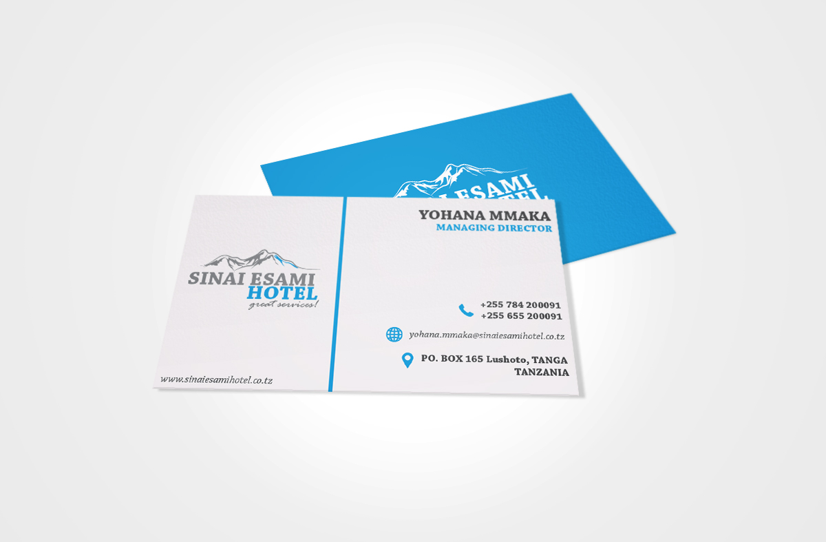 SINAI ESAMI HOTEL BUSINESS CARD
