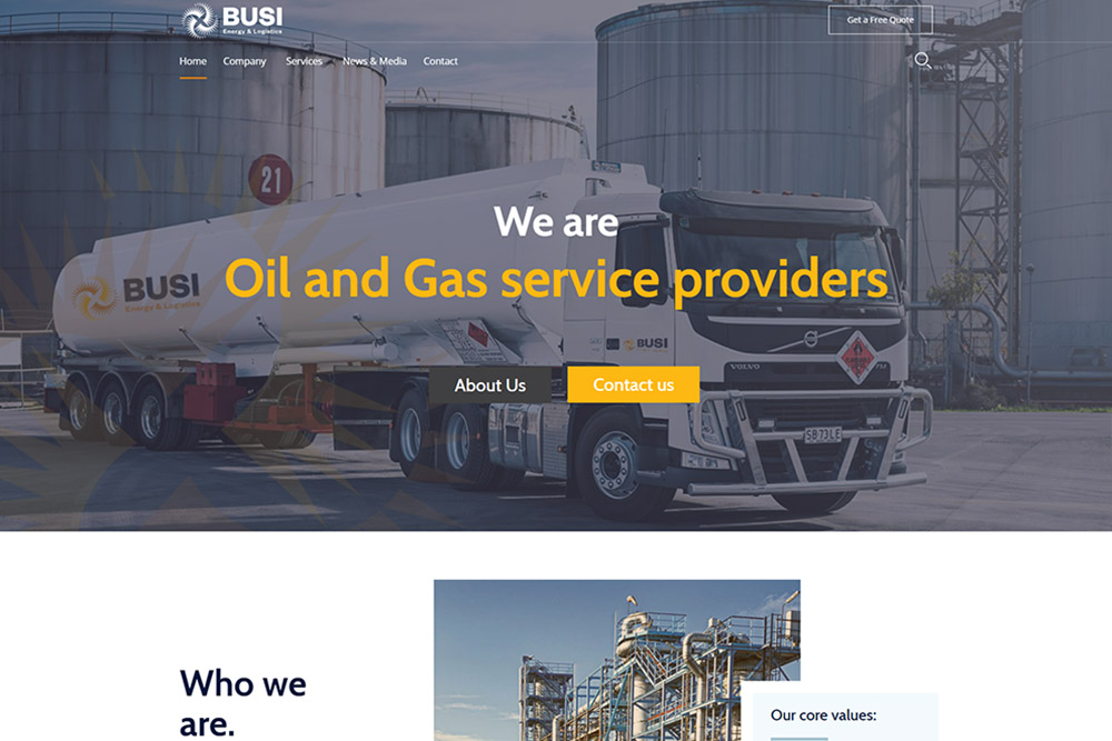 BUSI ENERGY & LOGISTICS