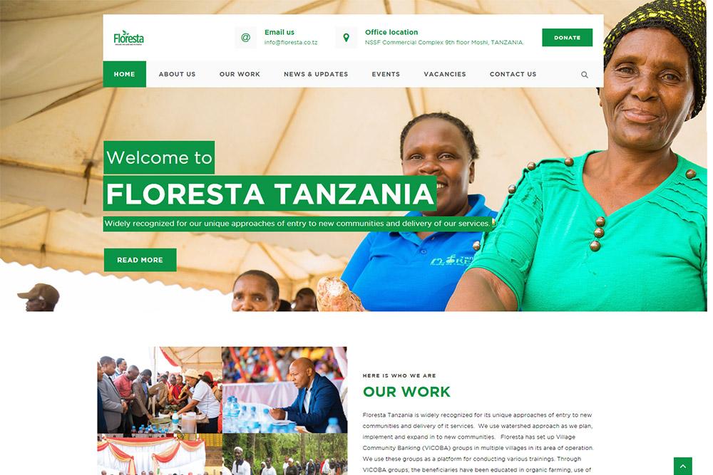 FLORESTA TANZANIA